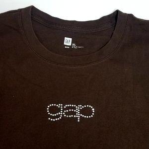 GAP Sequined Box Logo Tee